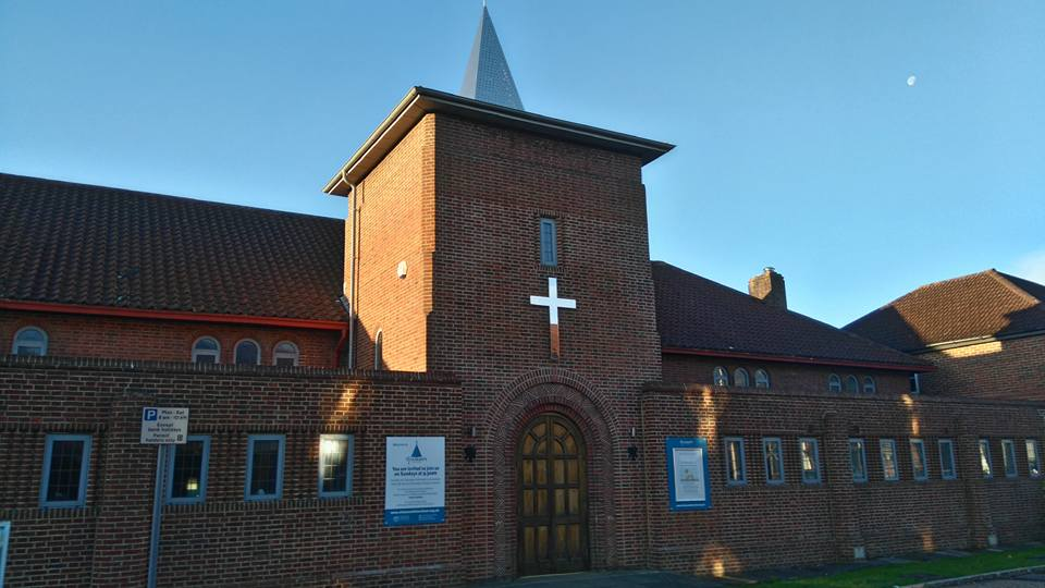 The new signs are up and the church is looking fantastic!